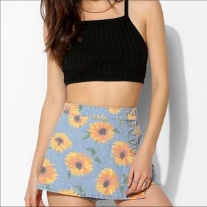 Urban outfitters sunflower skort